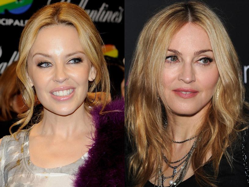 Kylie Minogue i Madonna po kwasie hialuronowym  /Getty Images/Flash Press Media
