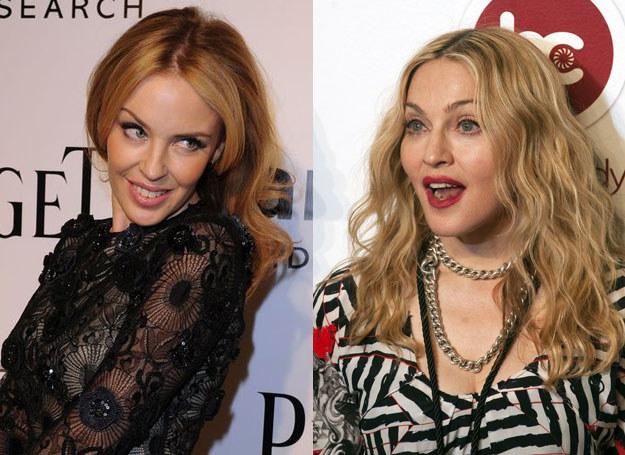 "Kylie Minogue i Madonna ""po kwasie hialuronowym"" /AFP"