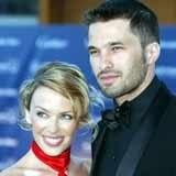 Kylie Minogue i Olivier Martinez /Archiwum