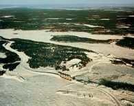 Labrador, okolice rzeki Churchil /Encyklopedia Internautica