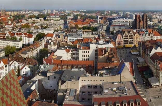 Łączna rozdzielczość zdjęć, z których powstała panorama Wrocławia wynosi 9,5 gigapikseli /materiały prasowe