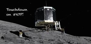 Lądowanie na komecie - sonda Rosetta