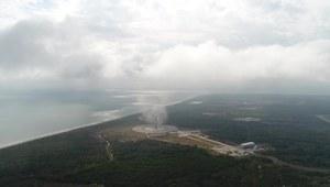 Lądowanie pierwszego członu rakiety Falcon 9