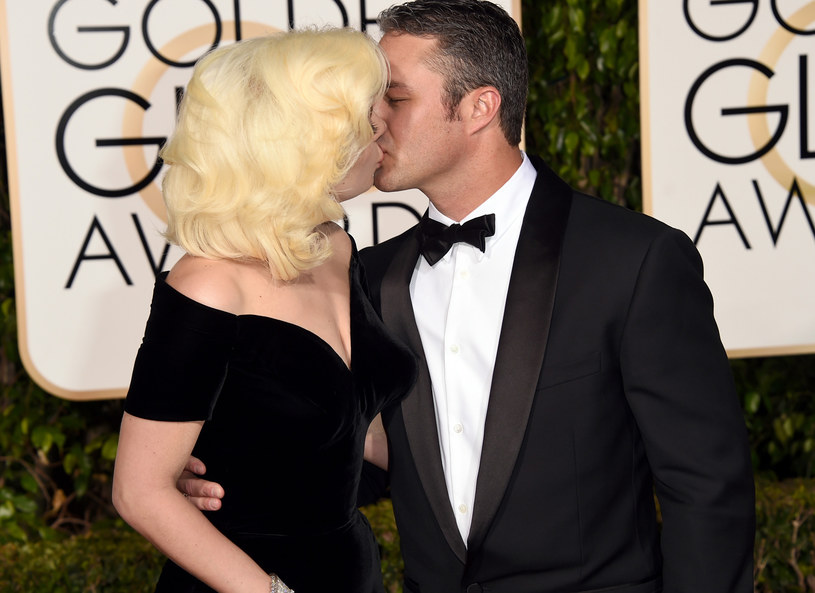 Lady Gaga i Taylor Kinney jeszcze jako para /Getty Images