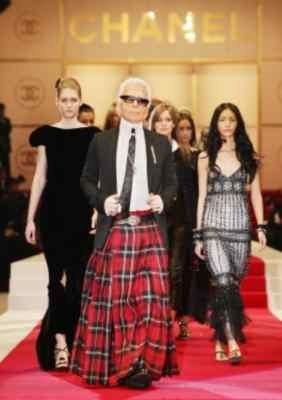 Lagerfeld, projektant i fotograf związany z domem mody Chanel /AFP