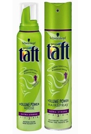 Lakier i pianka Taft Volume Power /materiały prasowe