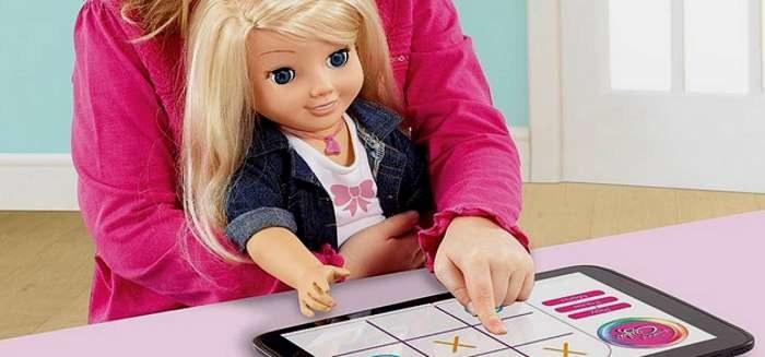 Lalska Cayla produkcji Toy Genesys /materiały prasowe