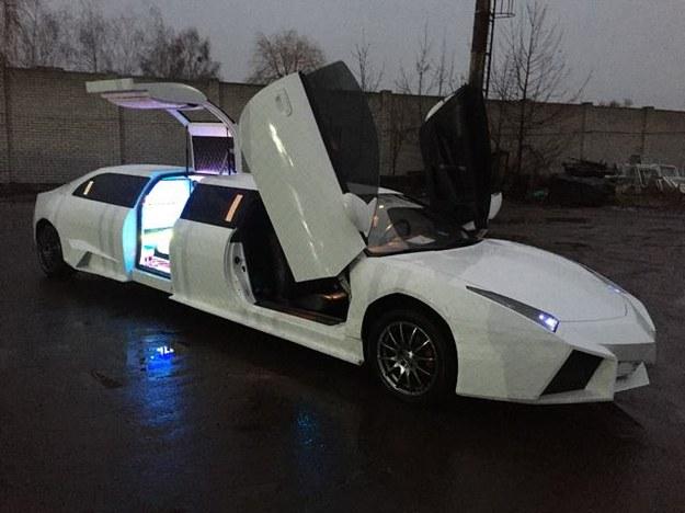 Lamborghini Reventon jako przedłużona limuzyna /