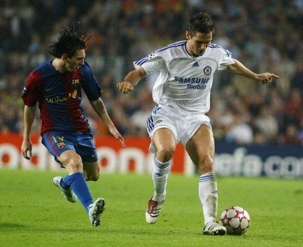 Lampard: Tylko Messi może zastąpić Cristiano Ronaldo /AFP