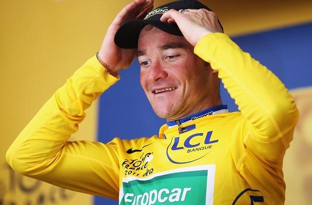 Lance Armstrong nie odmawia szans liderowi Thomasowi Voecklerowi/fot. Bryn Lennon /Getty Images/Flash Press Media