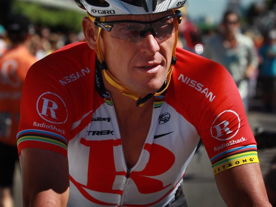 Lance Armstrong /BEN MACMAHON  /PAP/EPA