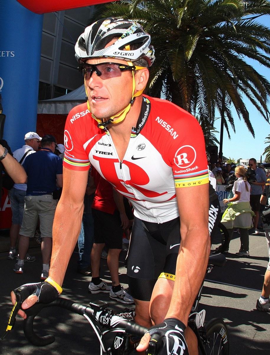 Lance Armstrong /fot. BENJAMIN MACMAHON /PAP/EPA