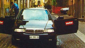 Lancia Kappa Coupe - śladami Flaminii