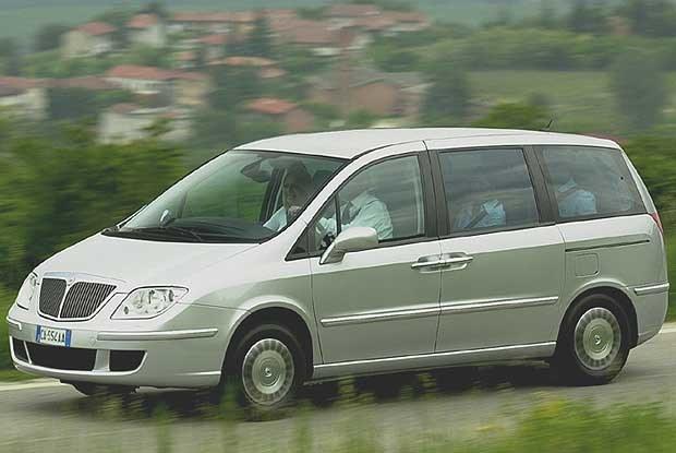 Lancia Phedra (kliknij) /INTERIA.PL