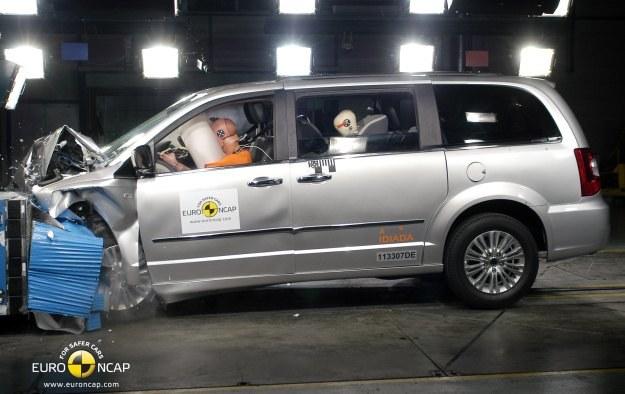 Lancia voyager otrzymała 4 gwiazdki /