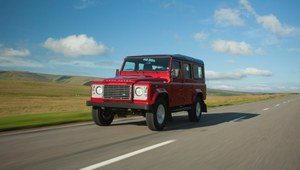 Land Rover Defender po zmianach