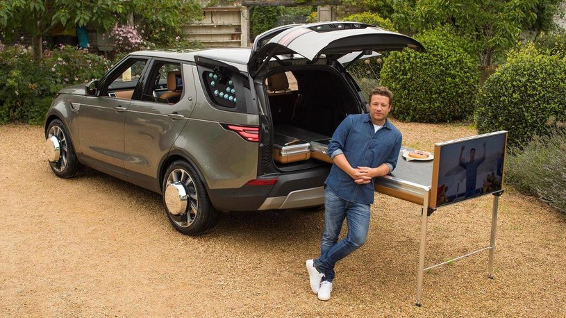 Land Rover Discovery jako foodcar /