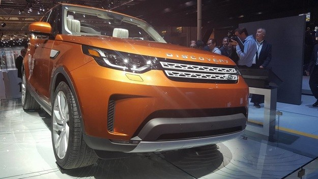 Land Rover Discovery /INTERIA.PL