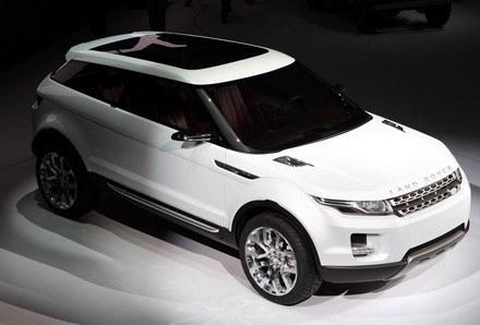 Land rover LRX concept / Kliknij /AFP