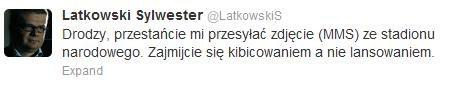 Lanskowski? /Twitter /INTERIA.PL