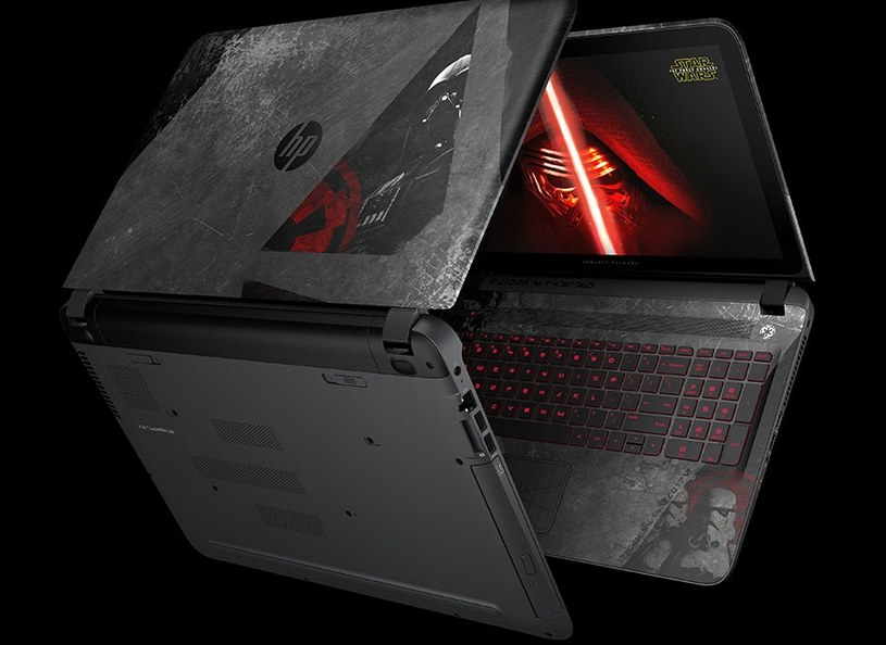 Laptop HP dla fanów sagi George'a Lucasa /materiały prasowe