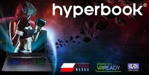 Laptopy Hyperbook z obsługą VR