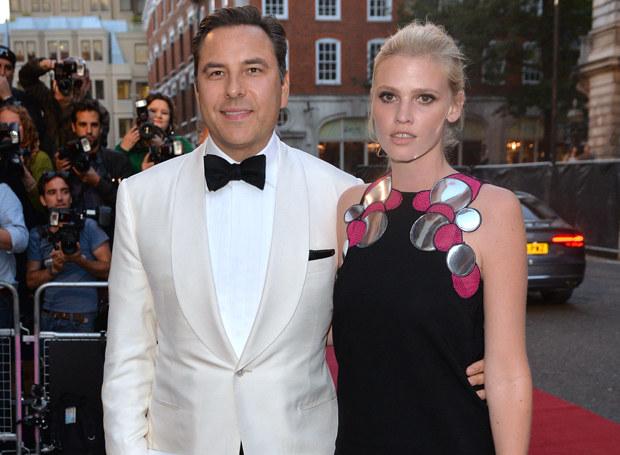 Lara Stone i David Walliams: Czy to już koniec ich małżeństwa? /Getty Images