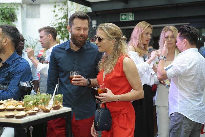 Larę Gessler i jej męża Pawła połączyła miłość do gastronomii /East News