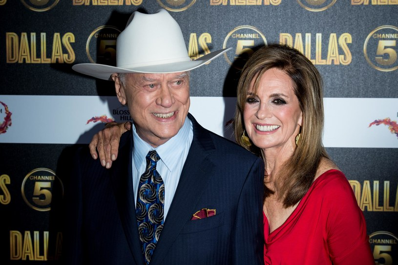 Larry Hagman, Linda Grey /Ian Gavan /Getty Images