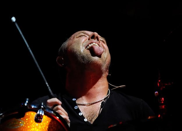 Lars Ulrich (Metallica) i jego rock'n'rollowy język fot. Ethan Miller /Getty Images/Flash Press Media
