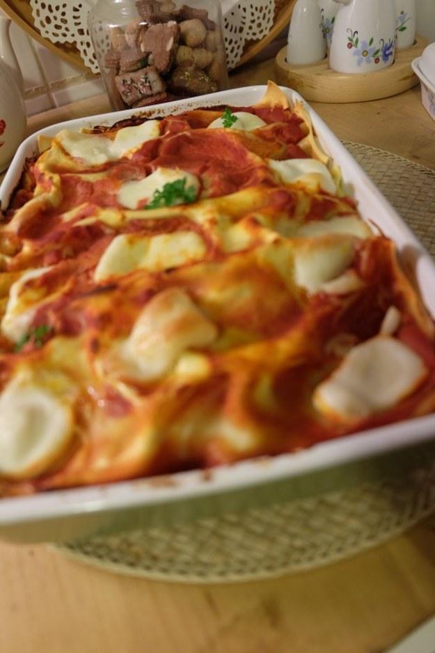 Lasagne z dynia