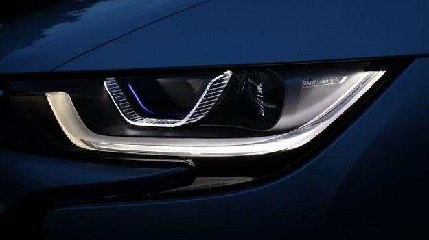 Laserowe światła w BMW i8 /BMW