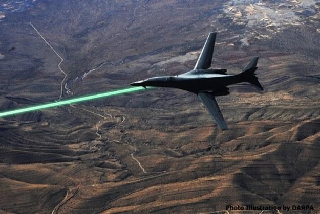 Lasery przeciwko wrogim pociskom /materiały prasowe