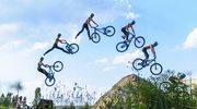 Latające rowery nad Spodkiem: adidas Ride the Sky