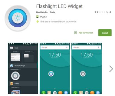 Latarka na Androida podejrzy co robisz i wykradnie ci hasła!