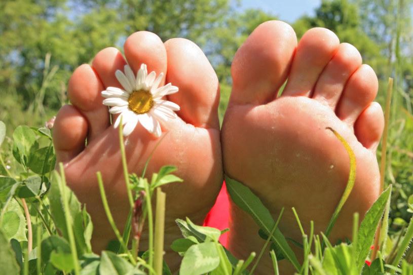 Latem stopy sa wyjątkowo narażone na podrażnienia  /© Panthermedia