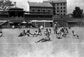 Plaża Towarzystwa Uniwersytetu Robotniczego w Krakowie (zdjęcie z 1931 roku)