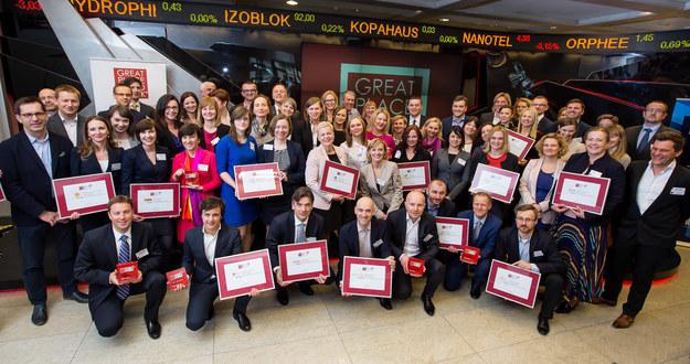 Laureaci konkursu Najlepsze Miejsca Pracy Polska 2015 /&nbsp