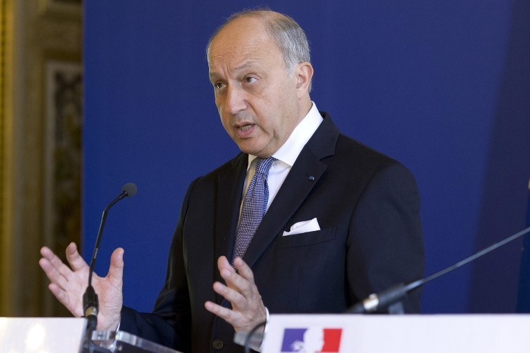 Laurent Fabius /AFP