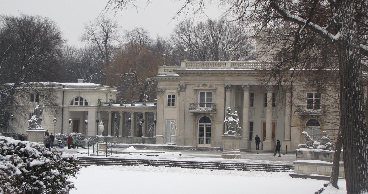 Łazienki Królewskie do remontu