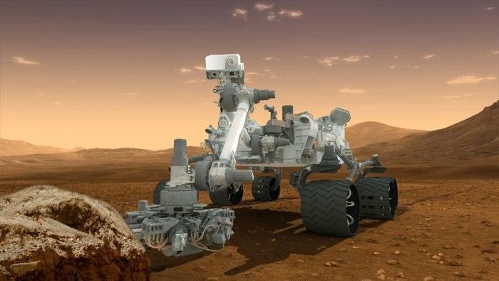Łazik Curiosity zabrał ze sobą bakterie na Marsa? /NASA