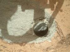 Łazik Curiosity znajdzie życie na Marsie? Zrobił pierwsze odwierty skał