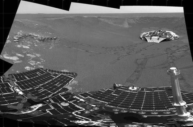 Łazik Opportunity zwiedził już spory fragment Czerwonej Planety /NASA