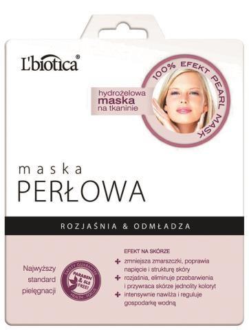 L'Biotica, hydrożelowa maska odmładzająca, 17 zł. /Mat. Prasowe
