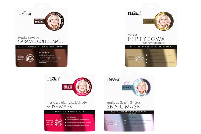L'biotica: Maski tkaninowe HOME SPA /materiały prasowe