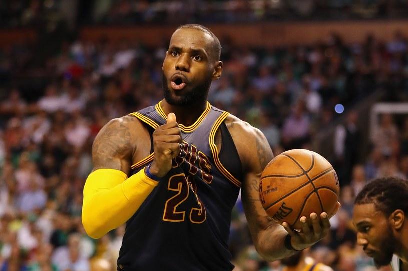 LeBron James z Cleveland Cavaliers /AFP