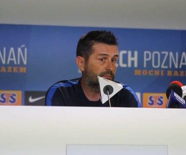 Lech Poznań - FK Pelister w LE. Bjelica przed meczem. Wideo