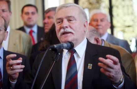 """Lech Wałęsa twierdzi, że nie był TW """"Bolkiem"""" /AFP"""