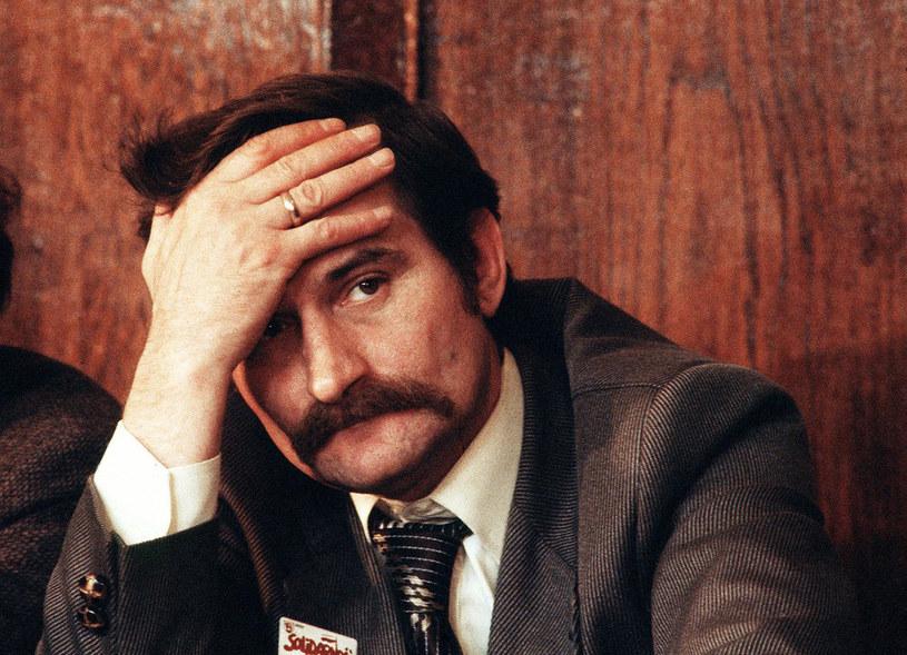 Lech Wałęsa w 1980 roku /LOOR/SIPA /East News