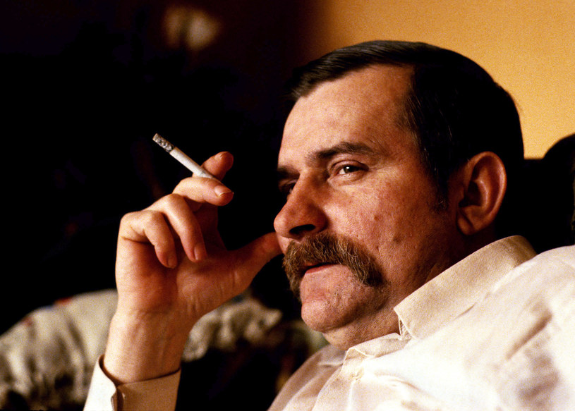 Lech Wałęsa w 1983 roku /Chris Niedenthal /Agencja FORUM